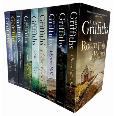 The Dr Ruth Galloway Mysteries by Elly Griffiths 10 Book Collection