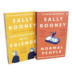 Sally Rooney Normal People Conversations with Friends 2 Books Adult Collection Paperback Set