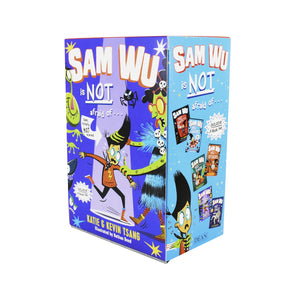 Sam Wu 6 Books Children Collection Paperback Box Set By Kevin Tsang & Katie