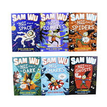 Load image into Gallery viewer, Sam Wu 6 Books Children Collection Paperback Box Set By Kevin Tsang & Katie