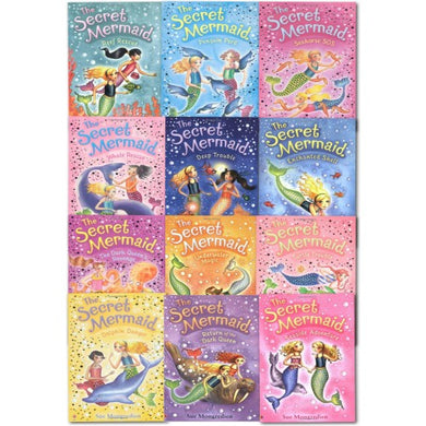 The Secret Mermaid 12 Book Collection
