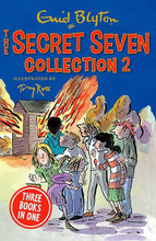 Load image into Gallery viewer, Enid Blyton The Secret Seven 4 Book 12 Story Collection