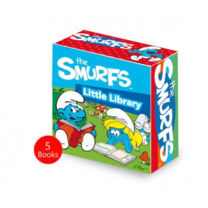 The Smurfs Little Library 5 Board Books Set