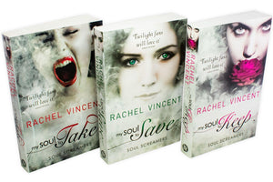 Rachel Vincent Soul Screamers 3 Book Collection