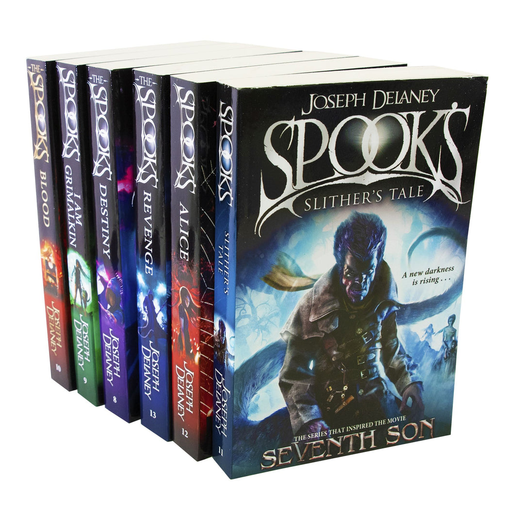 Spooks Wardstone Chronicles 8-13 Books Young Adult Paperback By Joseph Delaney
