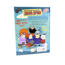 Load image into Gallery viewer, Rubbish World of Dave Spud Official Guide Children Book Hardback By Sweet Cherry