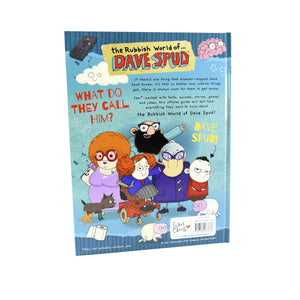 Rubbish World of Dave Spud Official Guide Children Book Hardback By Sweet Cherry