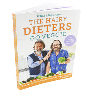 Hairy Dieters Go Veggie Food Nonfiction Book Paperback By Si King & Dave Myers