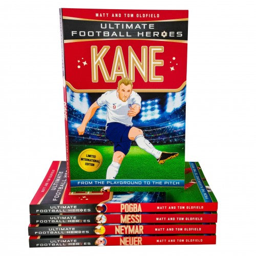 Ultimate Football Heroes Limited International Edition 5 Books