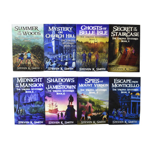 Virginia Mysteries Series 8 Books Young Adult Pack Paperback By Steven K Smith