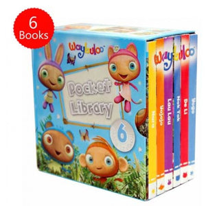 Waybuloo Pocket Library 6 Board Books