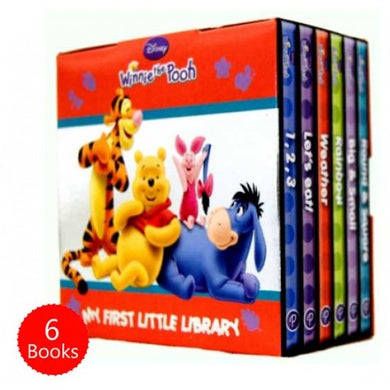 Winnie the Pooh Pocket Library 6 Board Books