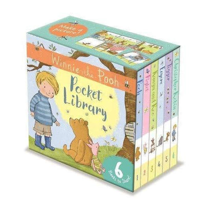 Winnie-the-Pooh Pocket Library 6 Books to Share