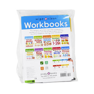 Wipe & Clean 10 Workbooks Collection Paperback Best Gift Set For Children
