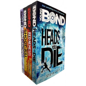 Steve Cole Young Bond 4 Book Collection