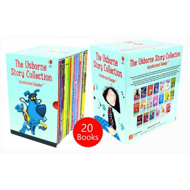 The Usborne Story Collection 20 Books Box Set for Accelerated Readers