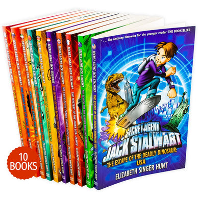 Secret Agent Jack Stalwart 10 Books Collection - Bangzo Books Wholesale
