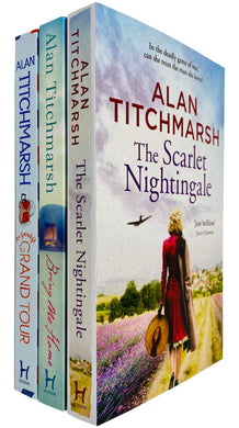 Alan Titchmarsh 3 Books Collection Set (The Scarlet Nightingale, Bring Me Home & Mr Gandy's Grand Tour) - Fiction - Paperback
