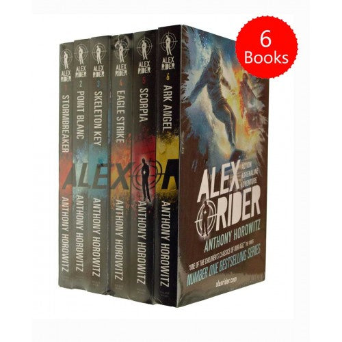 Alex Rider 6 Book pack Adventure Series Collection