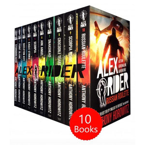 Alex Rider 10 Books Box Set Collection - Bangzo Books Wholesale