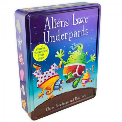 Aliens Love Underpants Anniversary Tin - Bangzo Books Wholesale