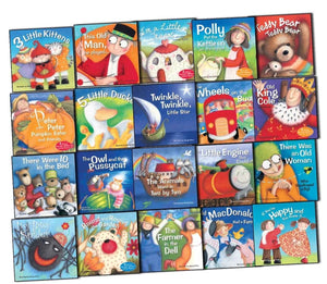 Favourite Nursery Rhymes 20 Books Box Set - Bangzo Books Wholesale