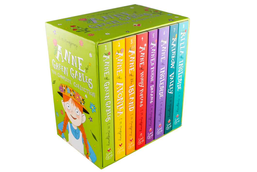 Anne of Green Gables The Complete 8 Book Collection