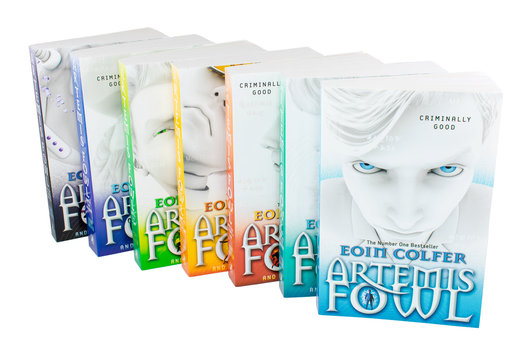 Artemis Fowl Collection 7 Books Set By Eoin Colfer - Bangzo Books Wholesale