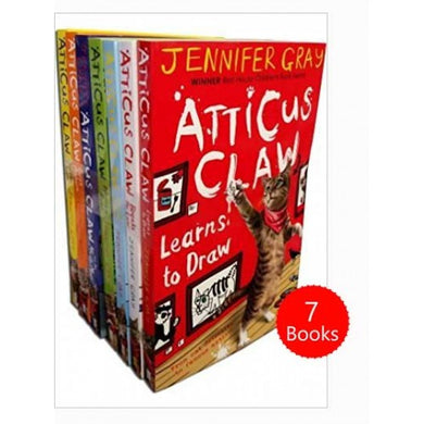 Atticus Claw Worlds Greatest Cat Detective 7 Books Collection