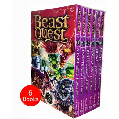 Beast Quest Series 5 - 6 Book Collection