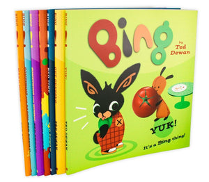 Ted Dewan's Bing: 7 Children's Story Books Collection