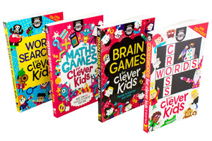 Buster Brain Games for Clever Kids 4 Book Collection