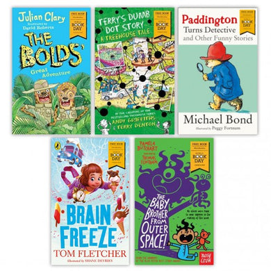 World Book Day 2018 5 Book Collection