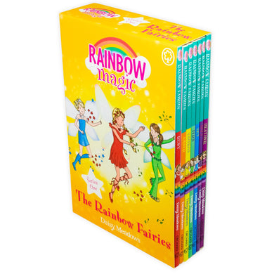 Rainbow Magic - Colour Fairies 7 Books (Series - 1)