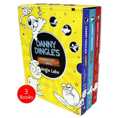 Danny Dingle Fantastic Finds 3 Books Box Set - Bangzo Books Wholesale