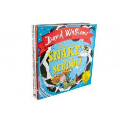 David Walliams 3 Hardback Picture Book Collection (UK Sales Only)