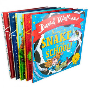 David Walliams Children Picture Book Collection 5 Books Illustrated By Tony Ross Deluxe Hardback