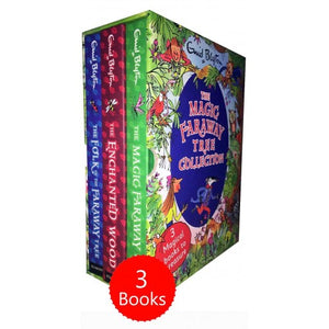 The Magic Faraway Tree 3 Books Box Set - Hardback
