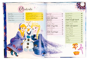 Disney Frozen Annual 2019 Hardback, Activities, Games, Puzzles, Facts,