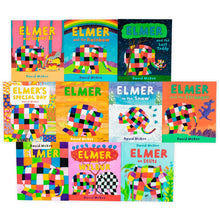 Load image into Gallery viewer, Elmer 10 Book Collection in a Bag