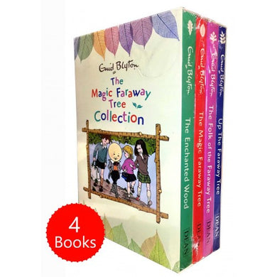 The Magic Faraway Tree Collection 4 Books Box Set