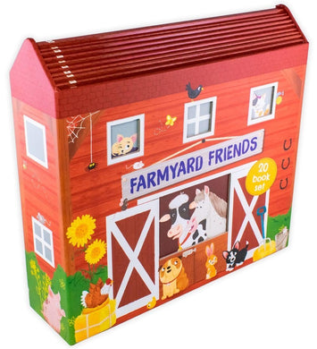 Farmyard Friends 20 Book Collection in a Barn