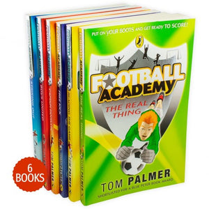Football Academy 6 Books Collection