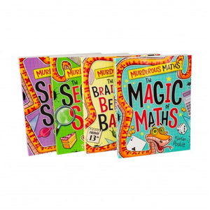 Murderous Maths 4 Book Collection - Bangzo Books Wholesale