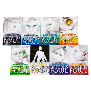Artmis Fowl 8 Books Collection Eoin Colfer