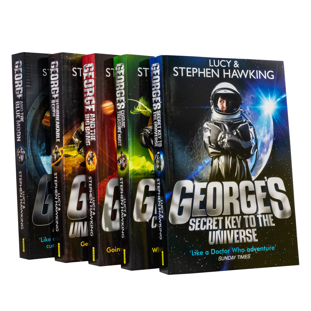 George's Secret Key To The Universe Series 5 Books Collection Paperback By Lucy