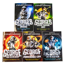 Load image into Gallery viewer, George's Secret Key To The Universe Series 5 Books Collection Paperback By Lucy