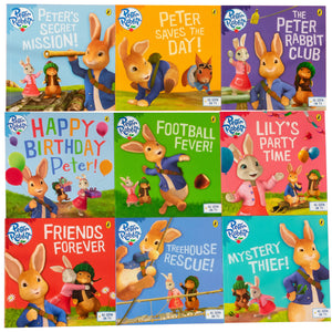 Peter Rabbit 9 Books Box Set Children Collection Paperback By Beatrix Potter