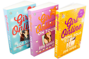 Zoe Sugg The Girl Online 3 Books Set