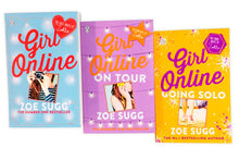 Load image into Gallery viewer, Zoe Sugg The Girl Online 3 Books Set